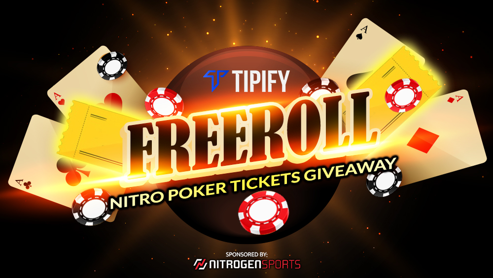 Tipify Freeroll Nitro Poker Tickets Giveaway