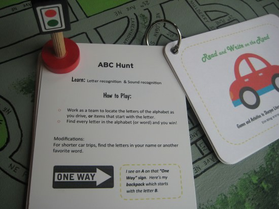 Printable Car Games
