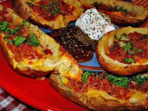 Homemade Potato Skins