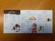 Interno del menu a tre ante