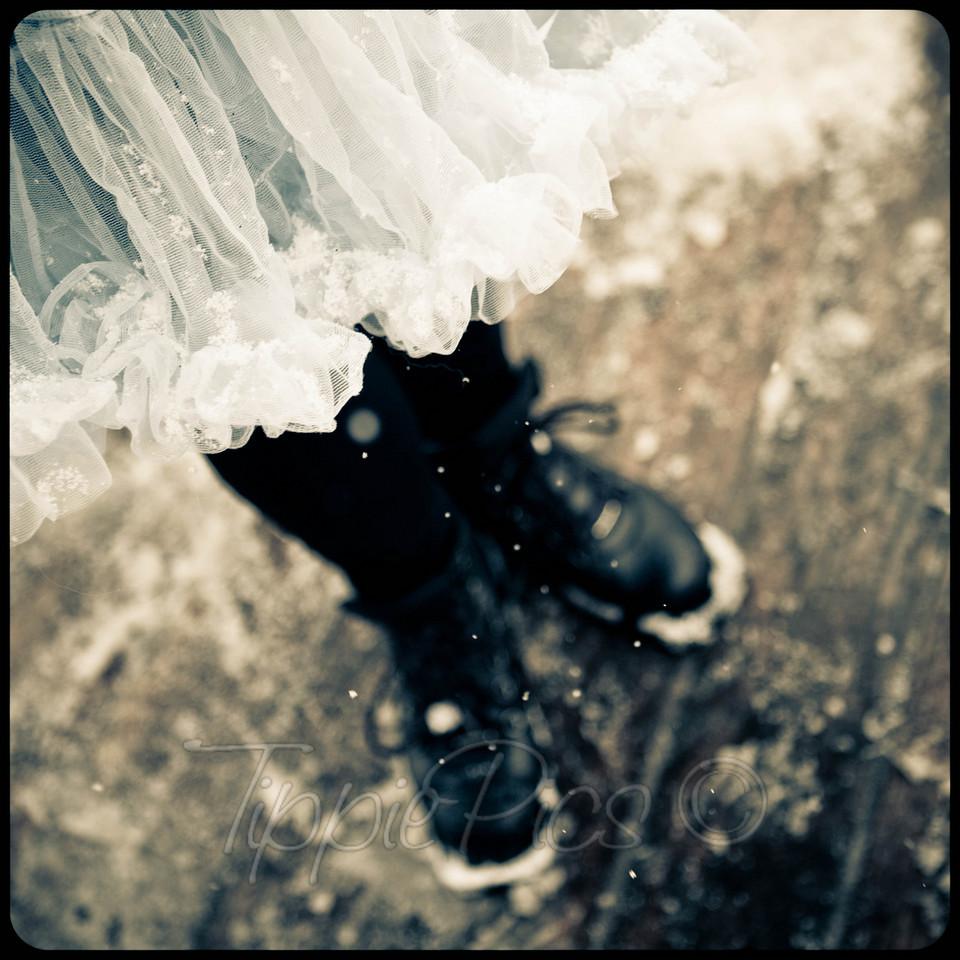 tutus and ski boots