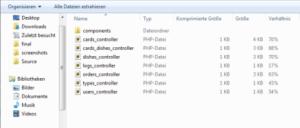 Windows 7 ZIP-Datei