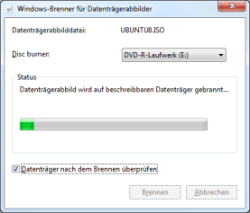 ISO Brennprogramm Windows 7