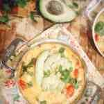 Chipotle Parmesan Skillet Eggs