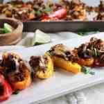 Jalepeño Chorizo Stuffed Game Day Peppers