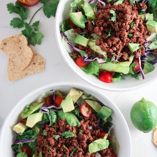 Beef Taco Salads
