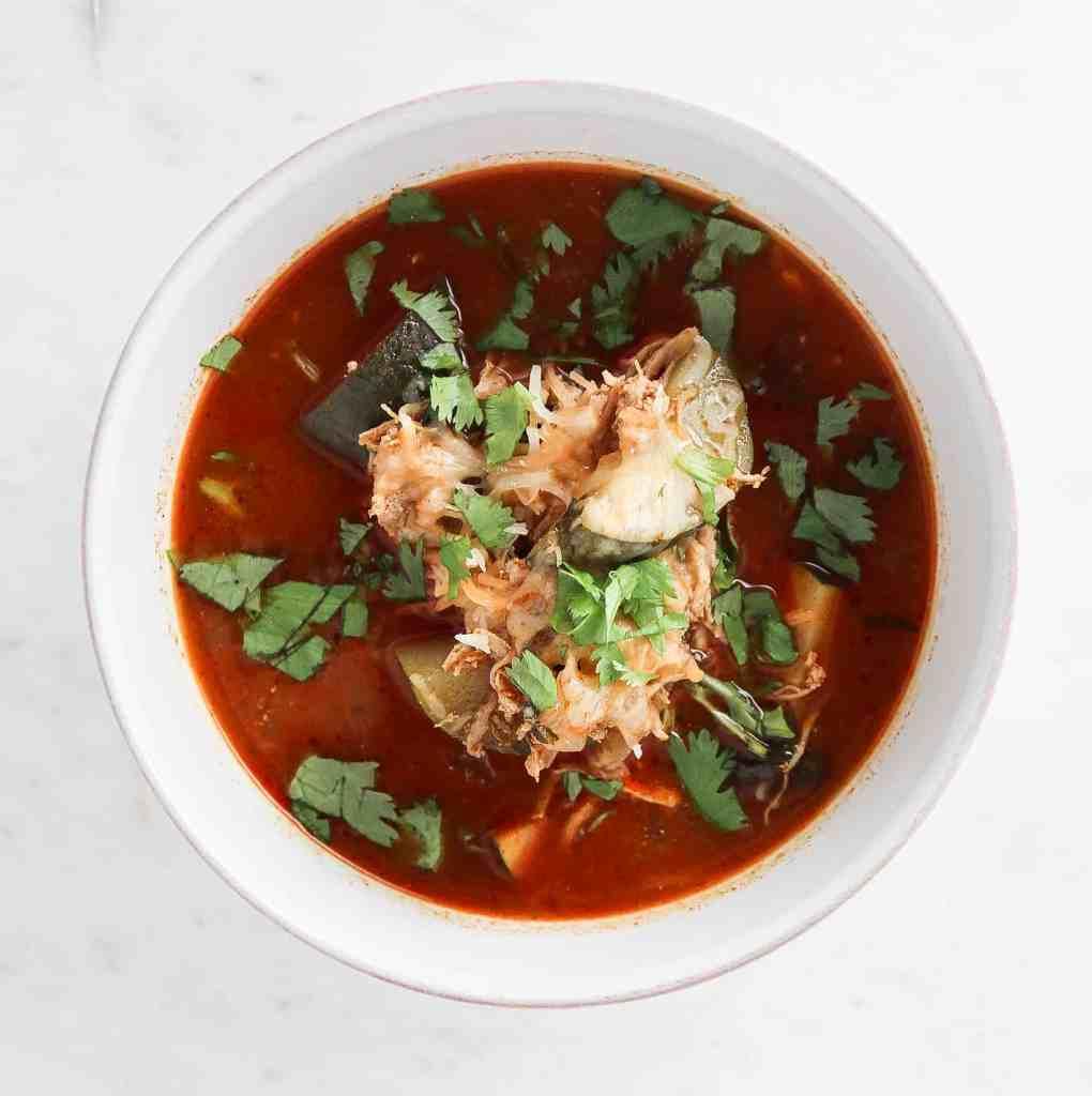 Chipotle Chicken Enchilada Soup