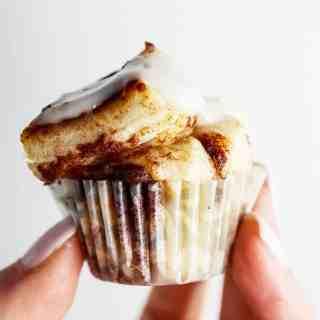 Mini Cinni Muffin Bites