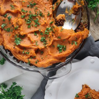 Whole 30 Sweet Potato Shepherd's Pie