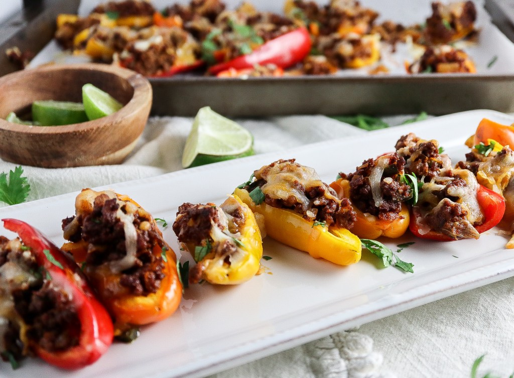 choirzo stuffed gameday peppers