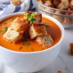 Roasted Red Pepper Gouda Soup