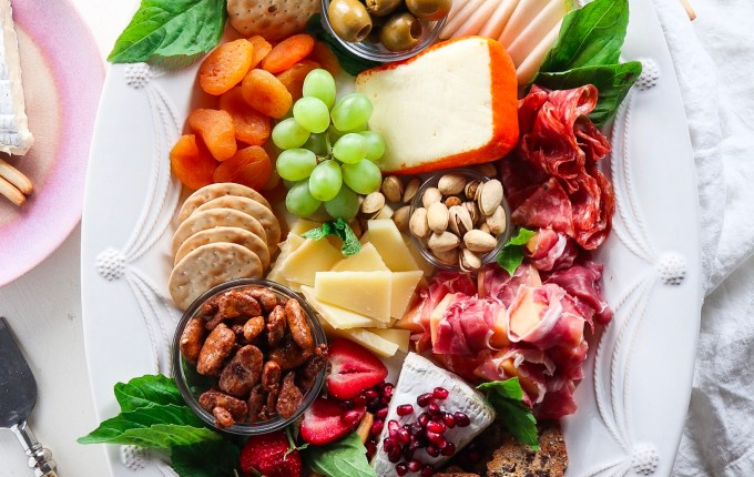 The Best Spring Cheese Board