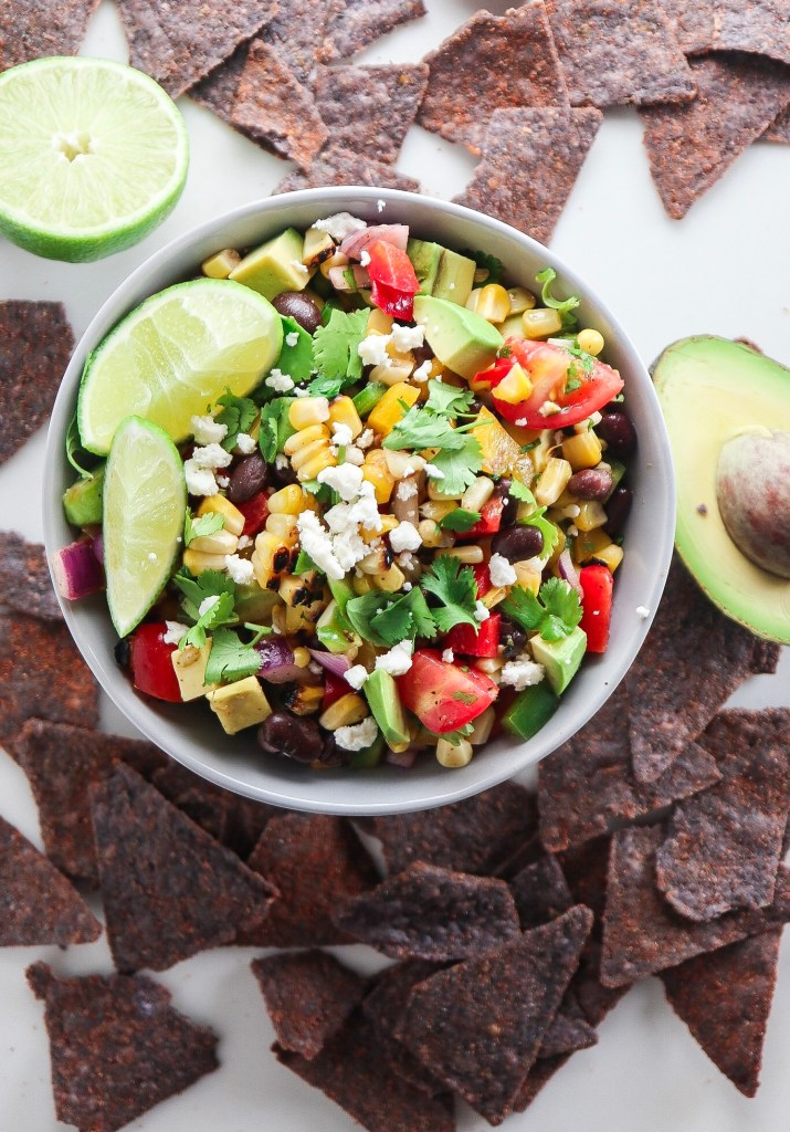 Avocado Black Bean Corn Salad
