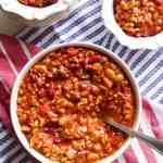 Crockpot Reunion Beans