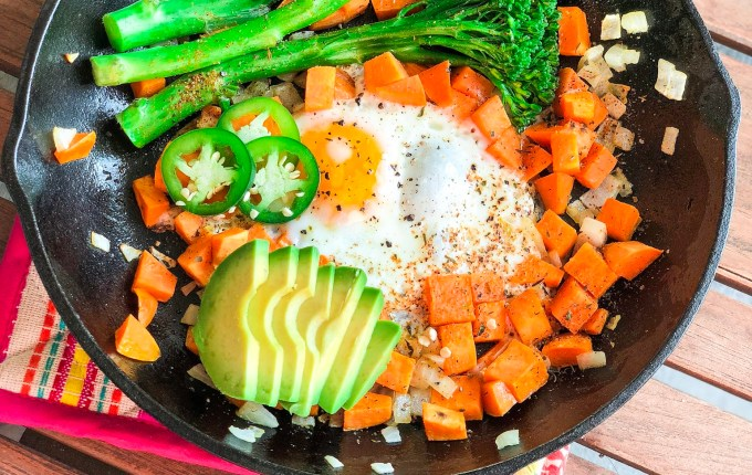 Whole 30 Breakfast Skillet for One