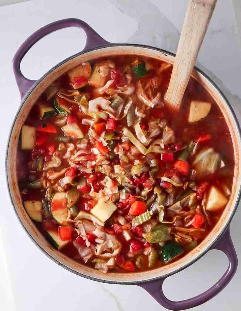Detox Cabbage Soup