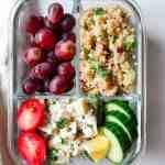 Chicken Salad Lunch Prep