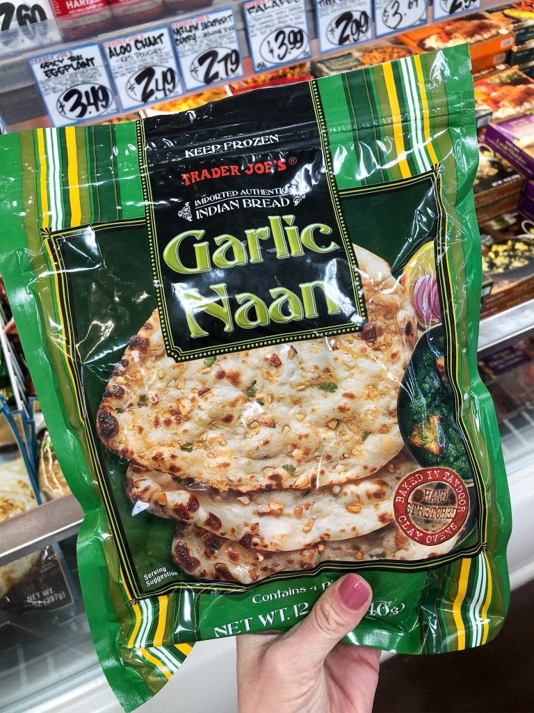 Garlic Naan Bread (Frozen)