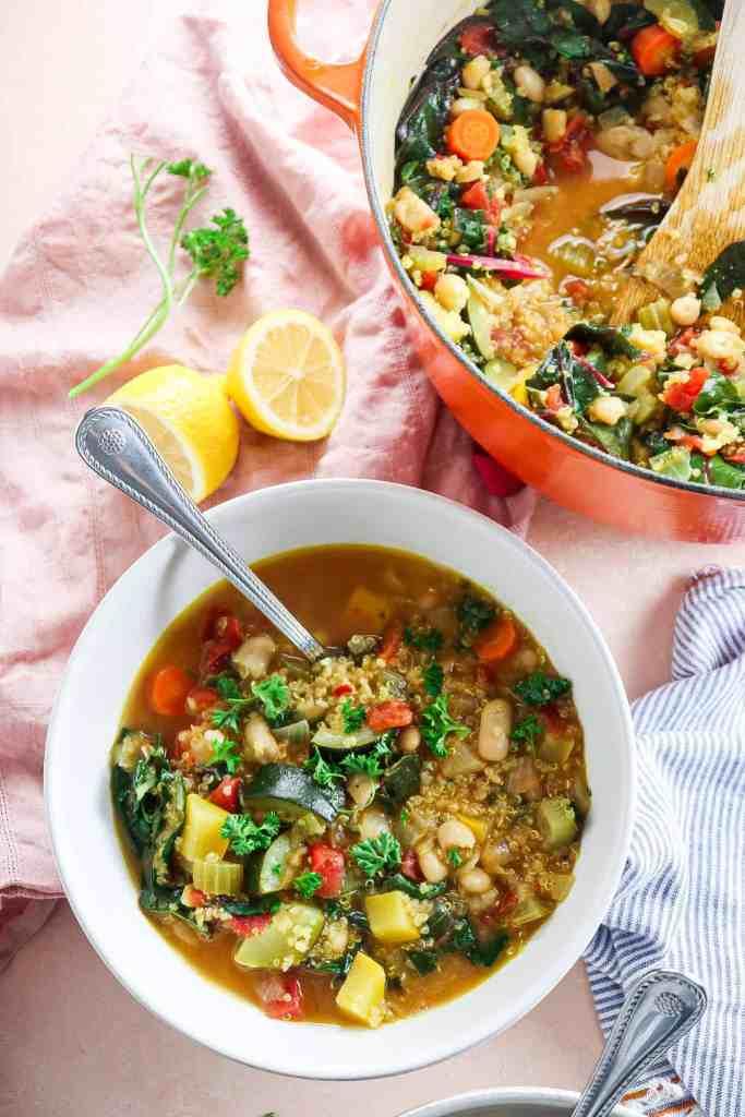 Nourishing Quinoa Vegetable Soup