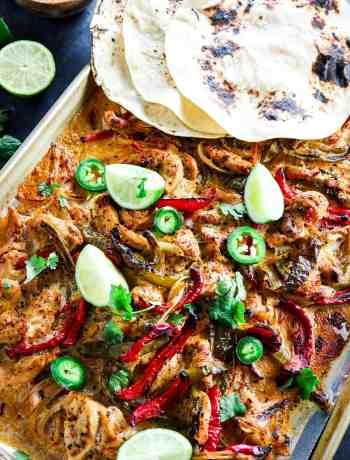 Make-Ahead Freezer Chicken Fajitas