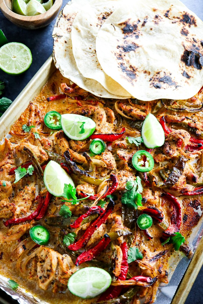 Make-Ahead Freezer Chicken Fajitas