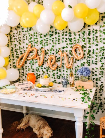 Piero's Amalfi Coast Themed 1st birthday Party