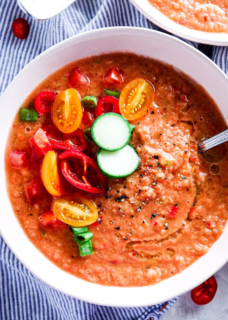 Summer Gazpacho Recipe