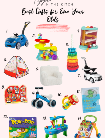 Best Gifts for One Year Olds