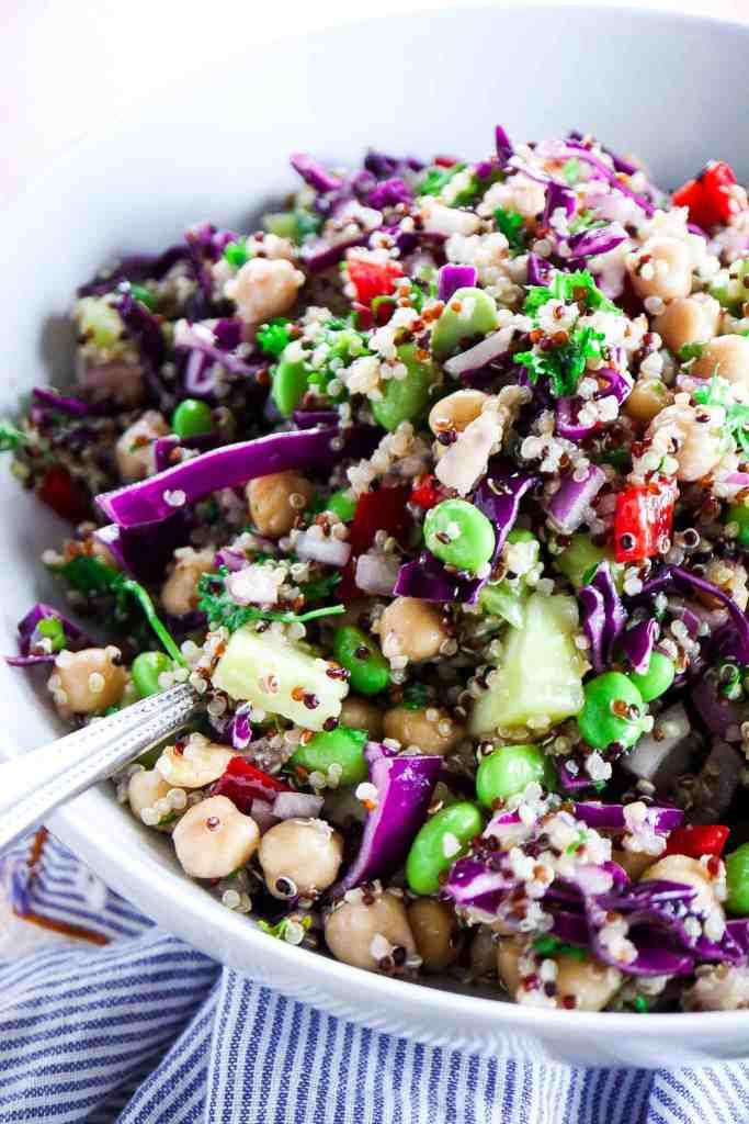 Healthy Detox Veggie Quinoa Salad