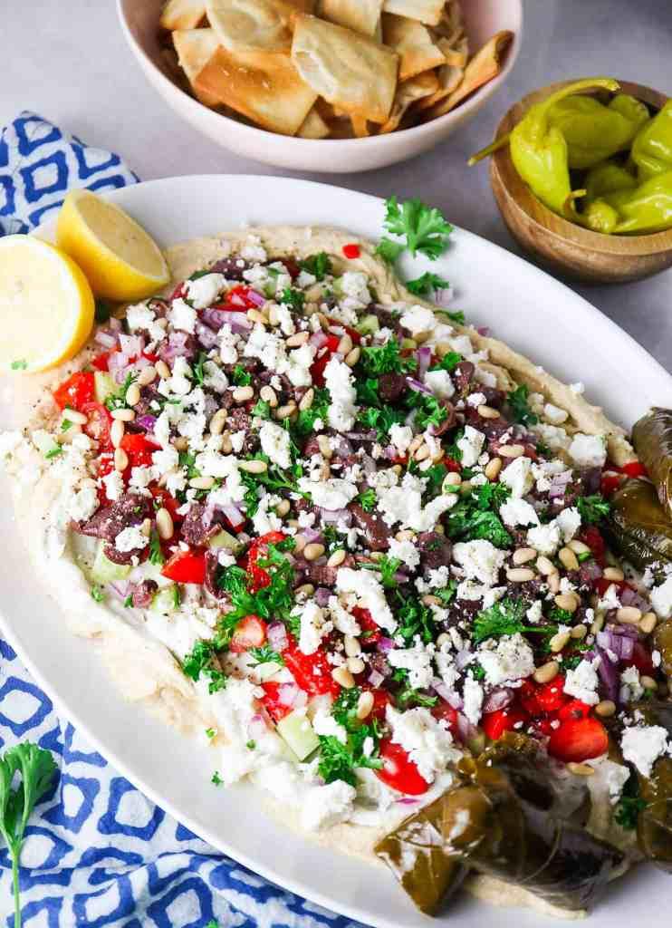 The Best Greek Layer Dip