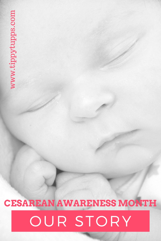 Cesarean Awareness Month - Our Story - tippytupps