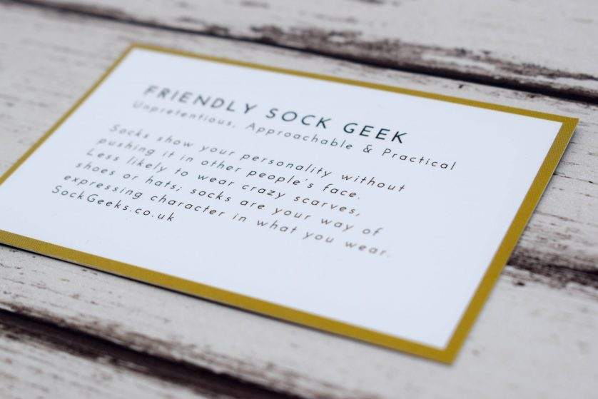 Socks Product Review – The Sock Geeks Subscription Box