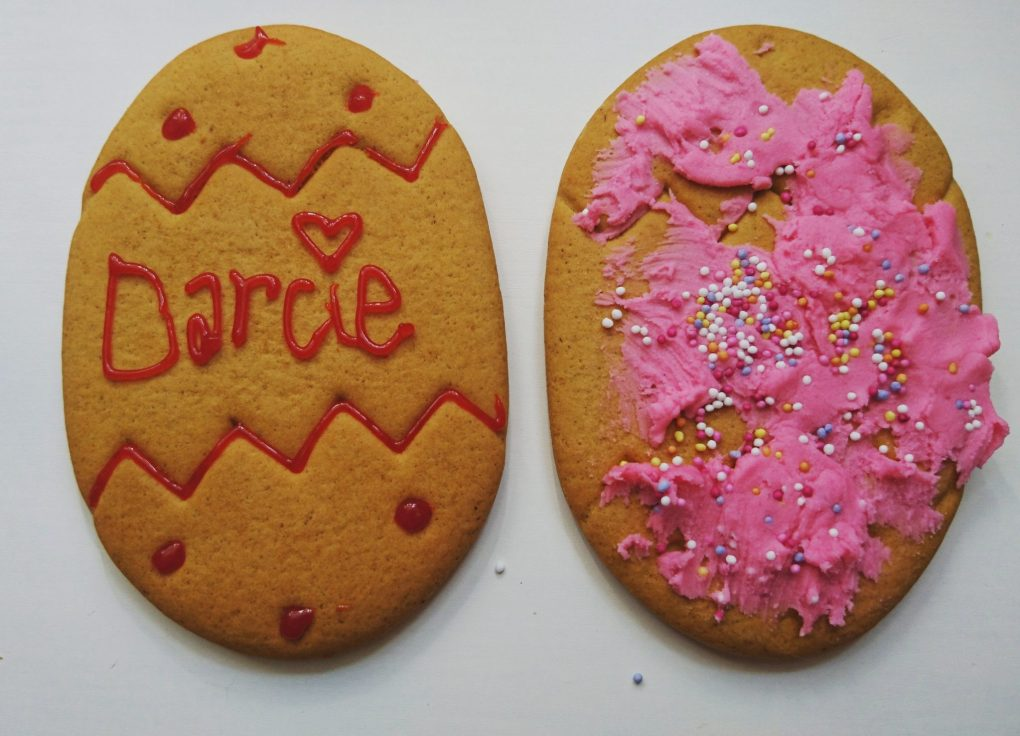 our finshed easter biscuits