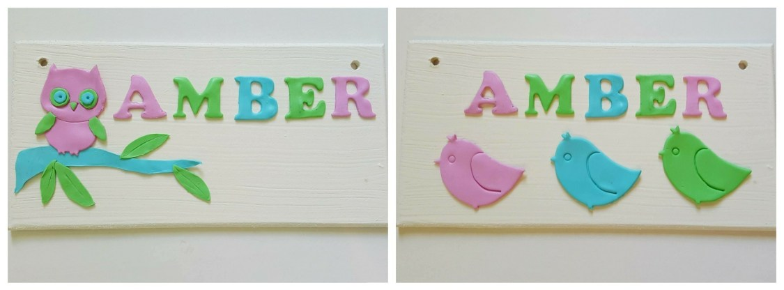 Product Review & Giveaway - Bug & Bean Signs - order options