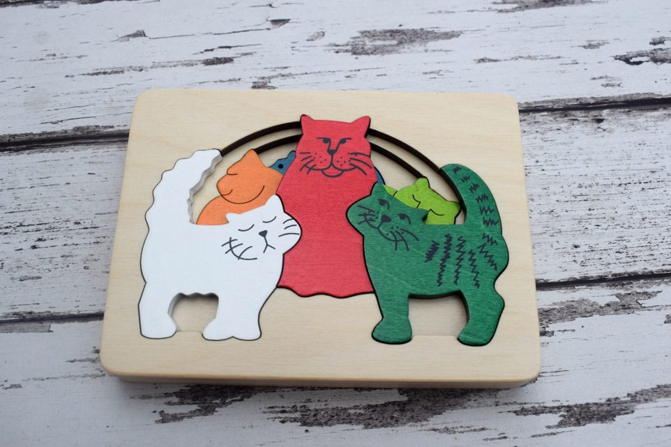 George Luck Puzzles - Product Review - Cats Puzzle