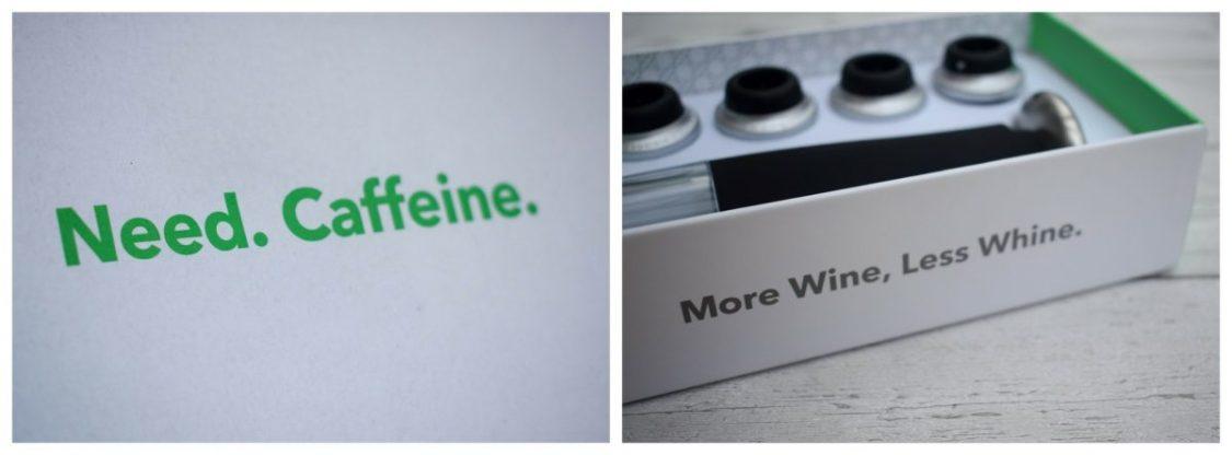 Coffee & Wine - Vremi - words of wisdom