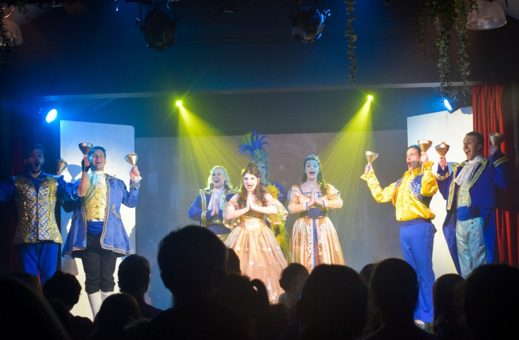 Bluestone - Beauty and the Beast panto