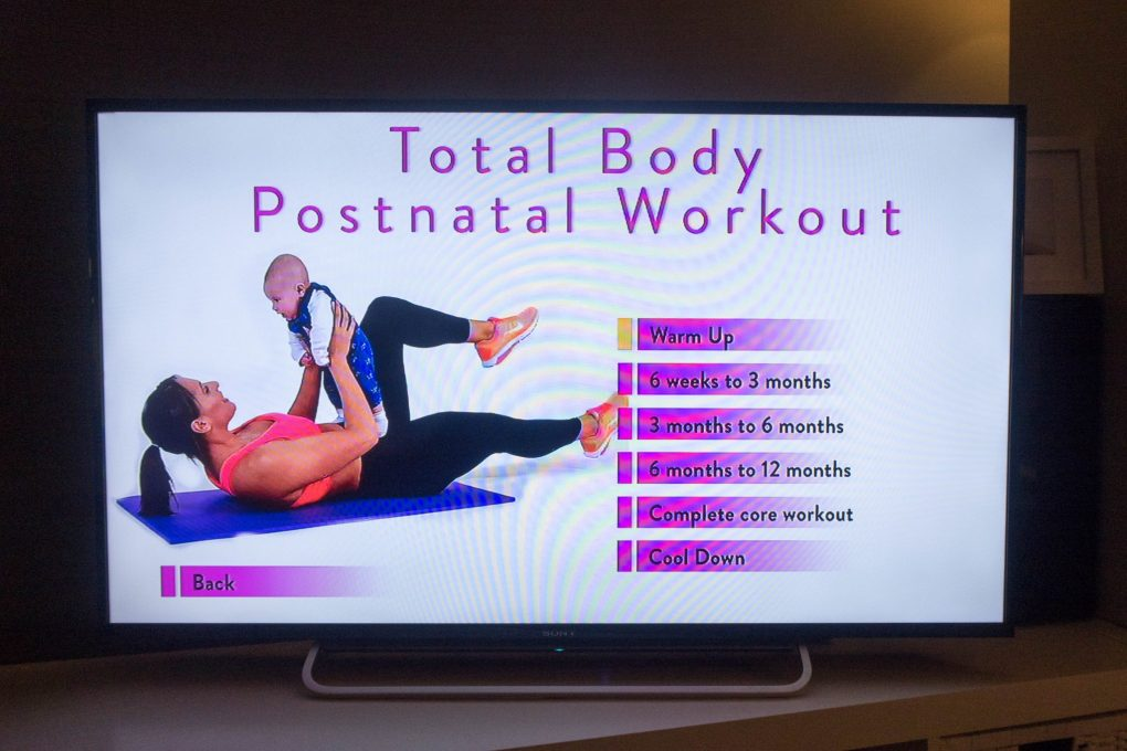 OneFitMama - workout DVD - the options available