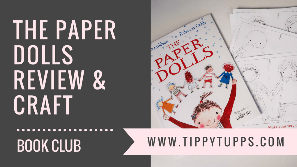 the paper dolls - book review - craft activity - blog post header