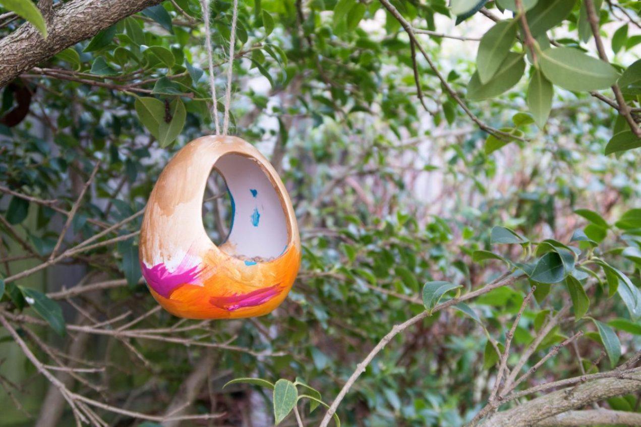 Spring Preparations with Baker Ross - bird feeder
