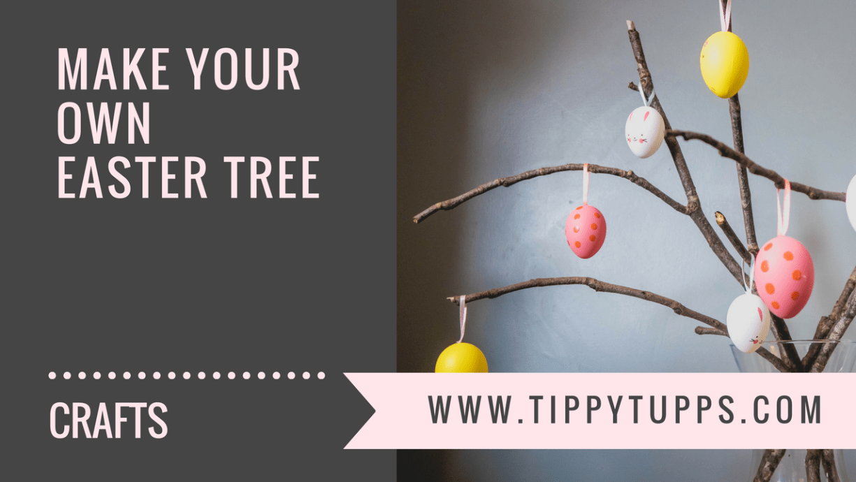 make your own easter tree - blog post header image