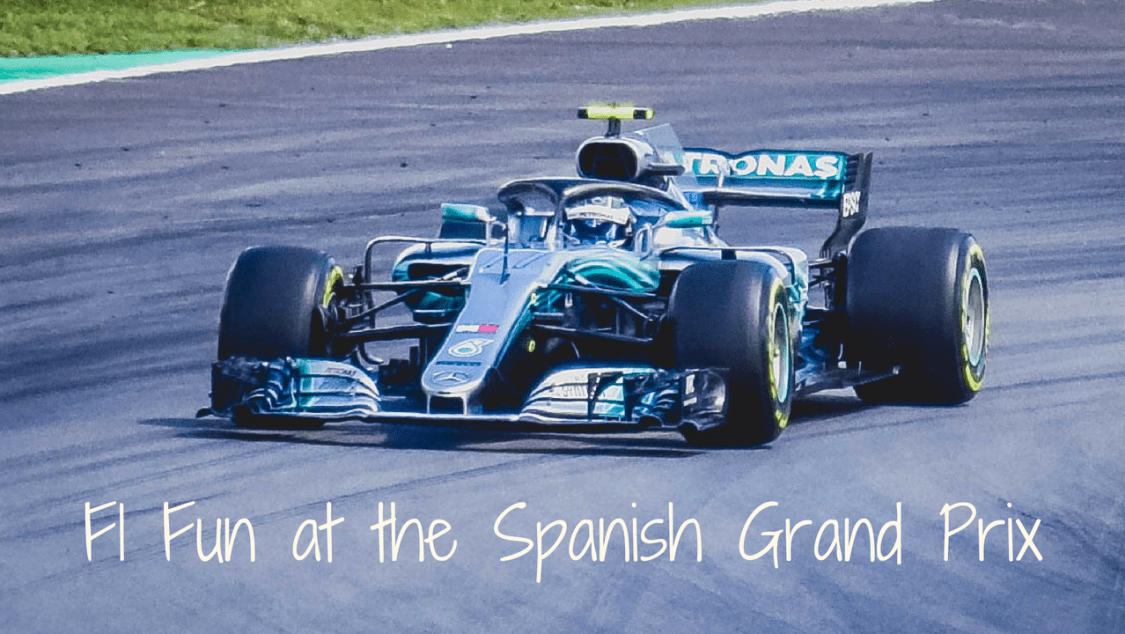 F1 Fun at the Spanish Grand Prix - blog post header