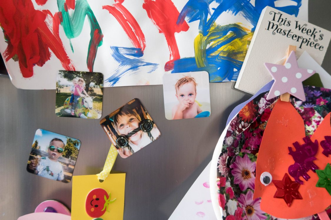 My Top Picks for your Pics with Cheerz - fridge magnets in use