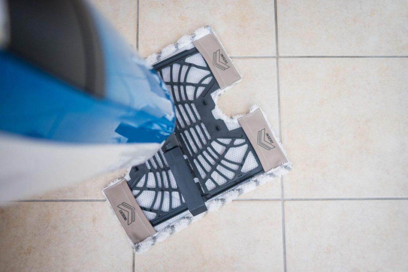 Banish Dirt with the Shark Steam Pocket Mop - klik n' flip technology