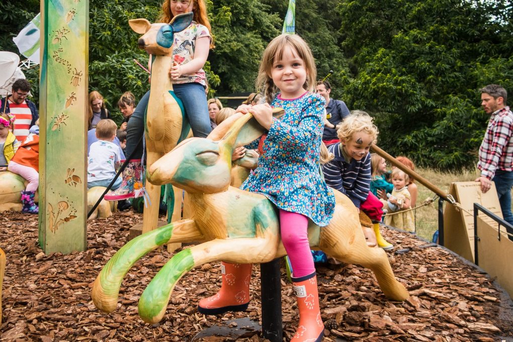 Just So Festival 2018 - on the merry go round