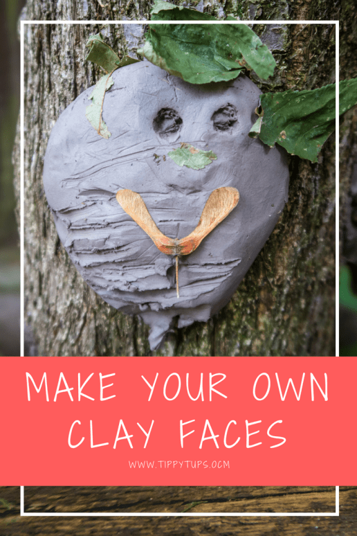 Let your children's imaginations run wild with this outdoor craft. Head out on a scavenger hunt then make your own clay face on the trees and in nature. Perfect for toddlers and pre-schoolers too.