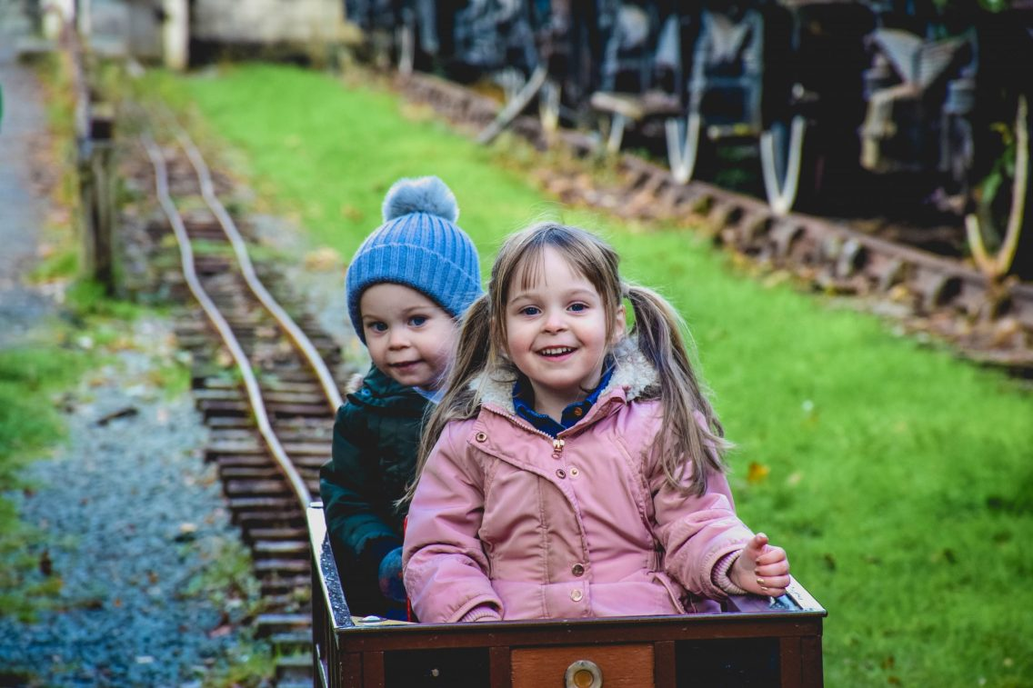 Conwy Valley Railway Museum - enjoying the day