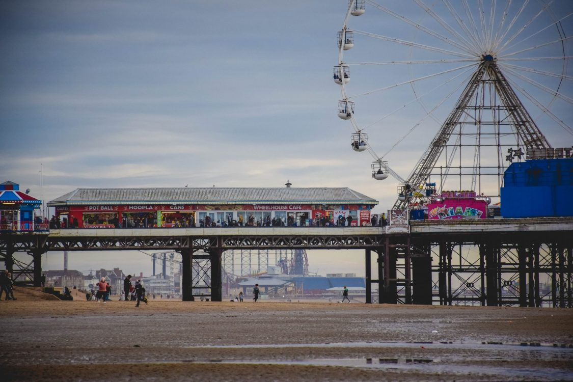 Blackpool illuminations - the pier