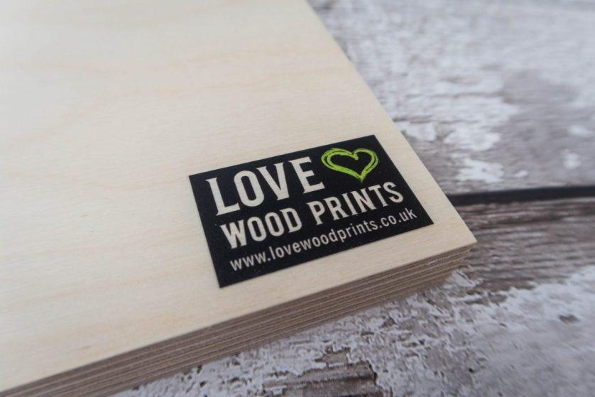 Bringing Memories to Life with Love Wood Prints (plus GIVEAWAY)