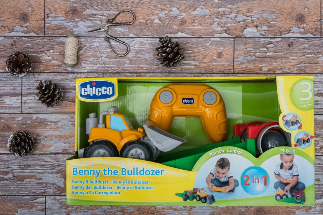 A Christmas Gift Guide for Little Ones - Benny the Bulldozer